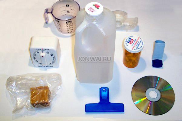 применение пластмассы